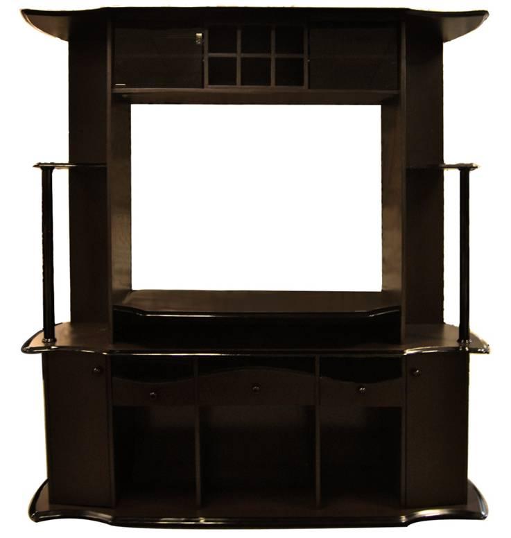 Gesh HIPSTEEN la papelera de grano de madera la oficina Papelera de pl/ástico prensada estilo retro para el hogar color marr/ón oscuro