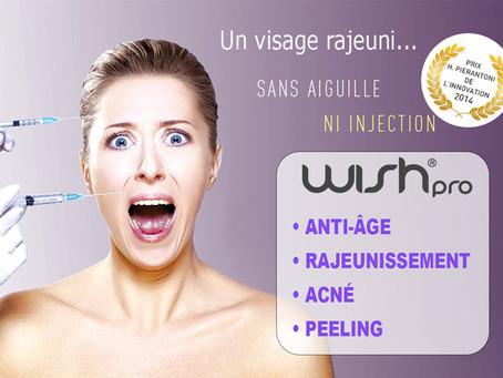 Wish pro : un visage rajeuni en seulement 30 minutes !