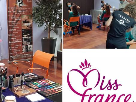 Aquazen Spa, partenaire du comité Miss Bourgogne