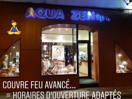 Aquazen Spa s'adapte pour votre plus grand bien être...