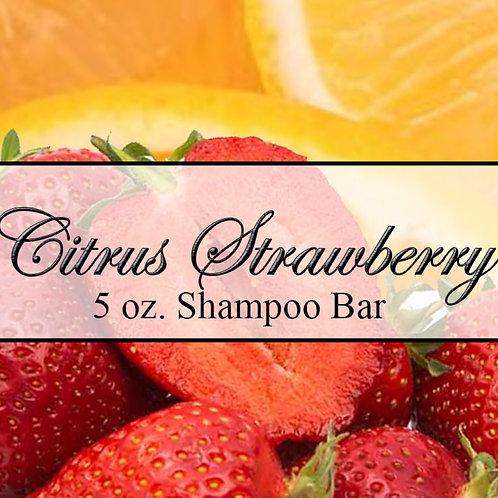 Citrus Strawberry Shampoo Bar