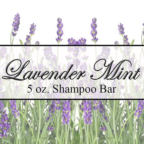 Lavender Mint Shampoo Bar