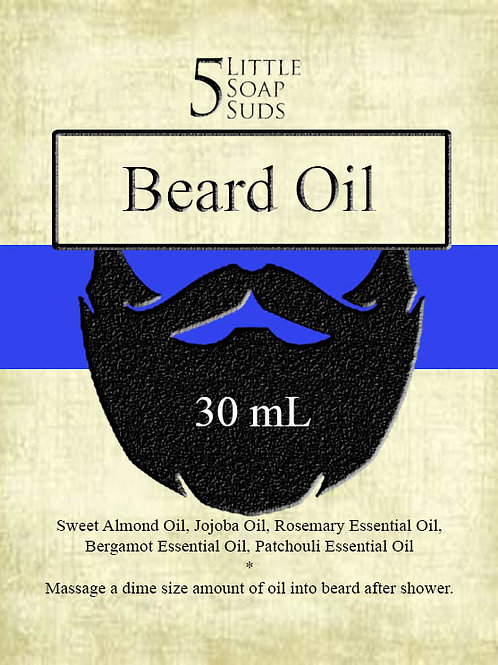 Bergamot Patchouli Beard Oil