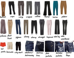 названия брюк