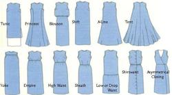 названия типов платья