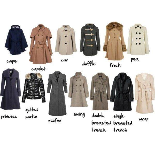 названия пальто