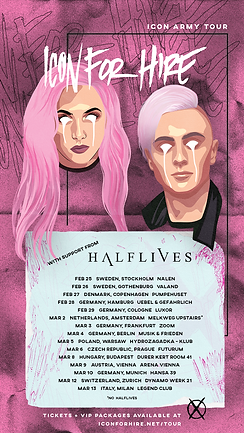 Icon For Hire Halflives 2020