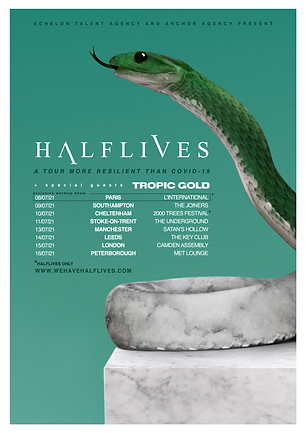 Halflives Resilience UK Tour 2021