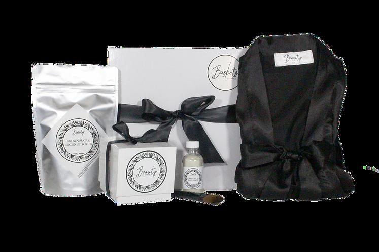 Satin Robe Premium Set