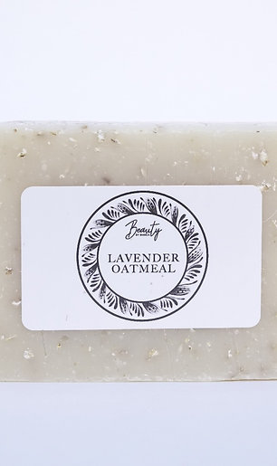 Lavender Oatmeal Body Bar