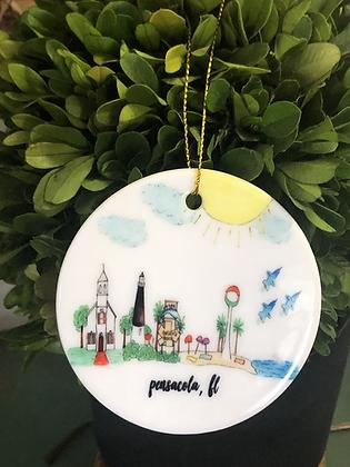 Pensacola Ornament