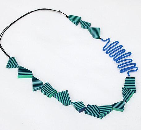 Turquoise & Blue Lyla Necklace