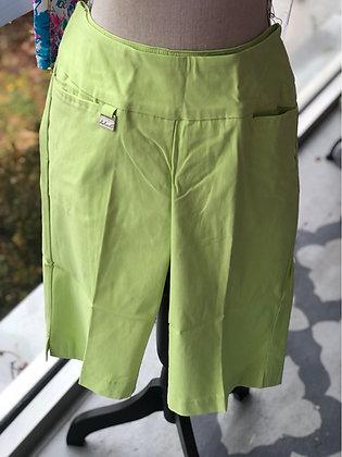 Lulu B Lime Bermuda Shorts