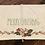 Thumbnail: Floral Holiday Tea Towel