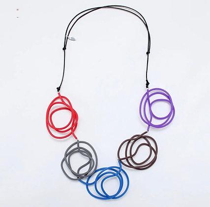Multi Color Veronica Necklace