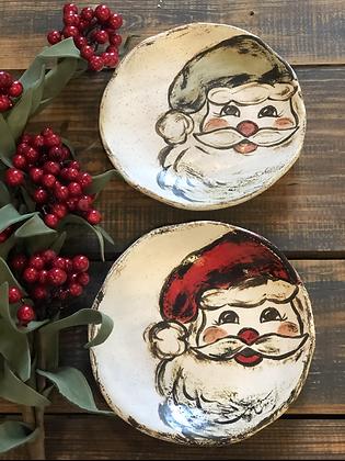 Santa Side Plate