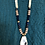 Thumbnail: Oyster Shell on Gold Suede Necklace