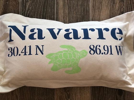 Navarre Hand Printed Pillow
