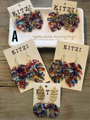 Colorful Kitzi Earrings