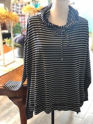 Cut Loose - Striped Sweatshirt