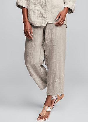 Multi Facet Pants- Flax