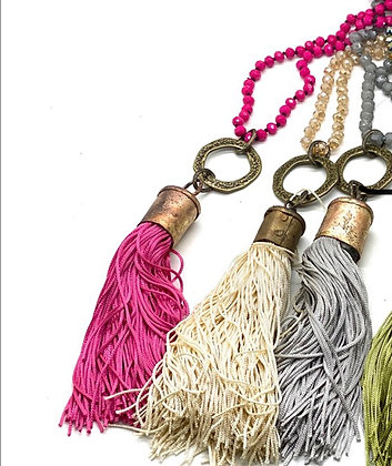Bermuda Tassel Necklace