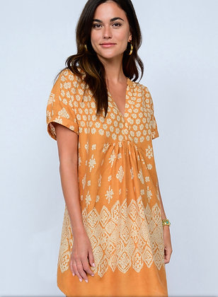 Gold Bandana Dress - Ivy Jane