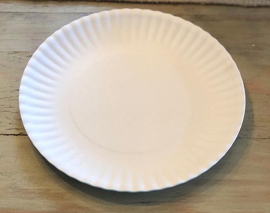 "Set of 4 Melamine ""Paper"" Plates"
