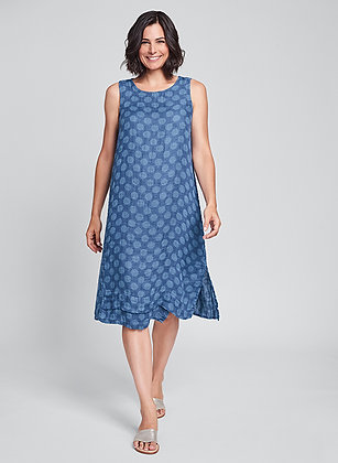 Vancouver Dress- Flax