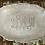 Thumbnail: Monogrammed Custom Platter XL