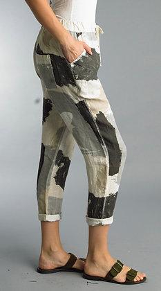 Flora Linen Pant