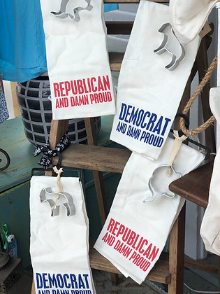Republican/Democrat Handtowel