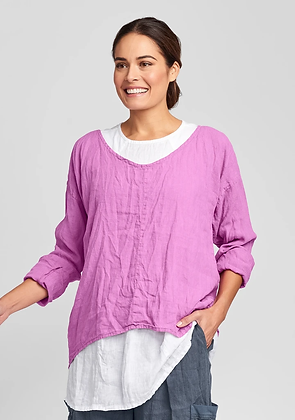 Flax Whisperer Top
