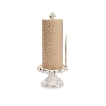 Beaded Paper Towel Holder