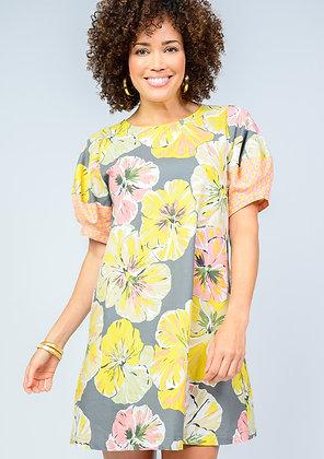 Floral Explosion Dress