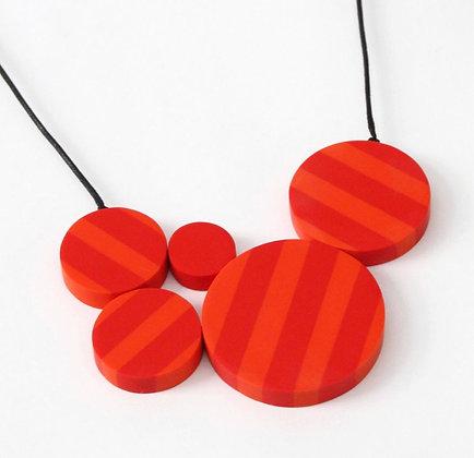 Fire Stripe Necklace