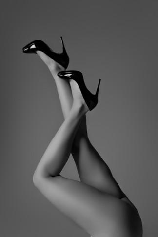 black and white fine art boudoir photo tampa