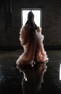 Fluffy Robe Woman