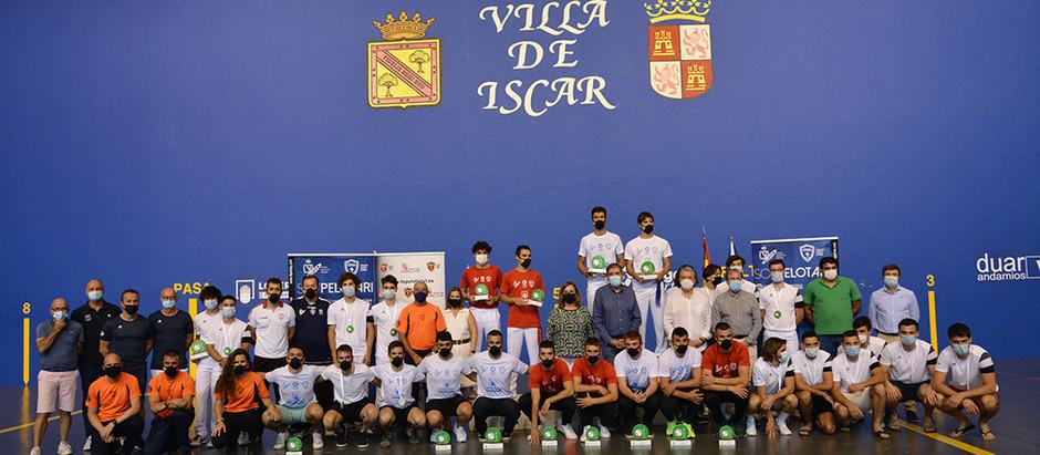 España consigue cinco de los seis títulos europeos disputados en los frontones de Íscar y Vallelado