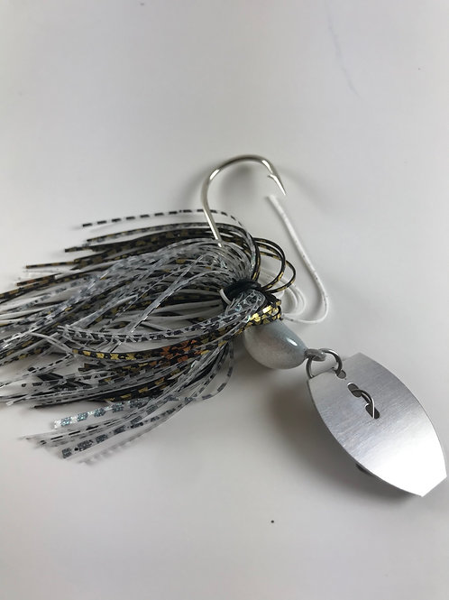 Natural Shad Bladed Jig