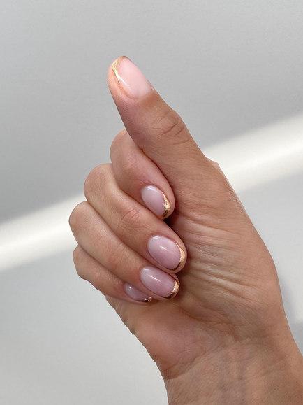 gel nail Shellac salon bath