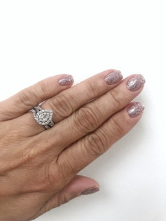 Glitter Nails by Jen