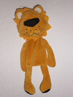 Doudou Lion jaune