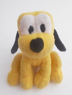 Doudou chien jaune