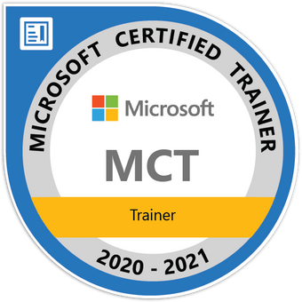 Microsoft Certified Trainer label