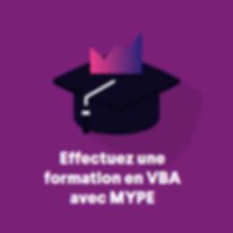 VBA formation Paris