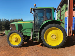 New Mitas Tyre and Wheel Kit on an old John Deere
