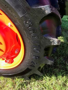 Ag Tyres & Wheels - Allclass Kubota M9540