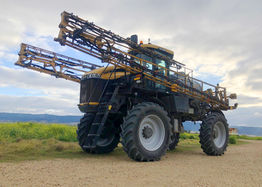 Continental Tractor 85's on RoGator