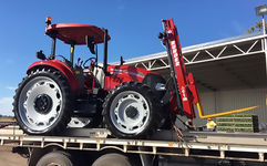 Ag Tyres & Wheels - Kit on Case IH Farmall 85c Tractor